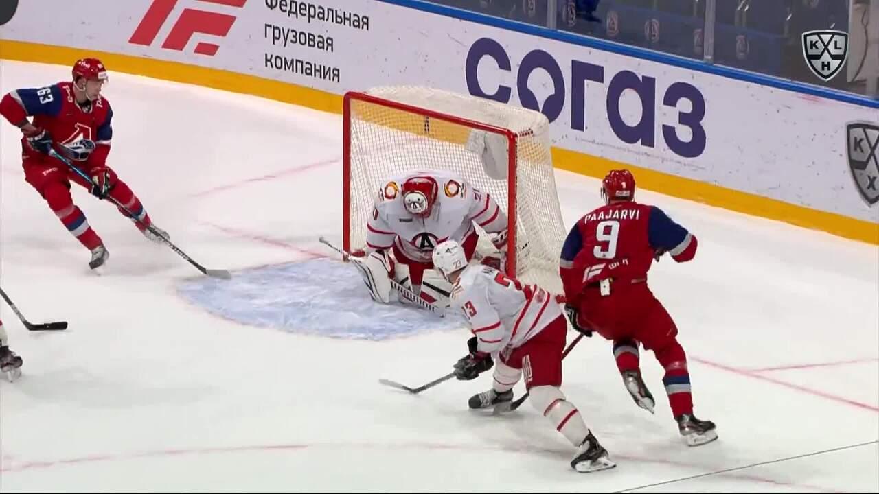 Хайлайты. Локомотив - Автомобилист 1:2, 12 ноября 2020